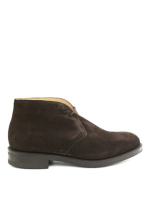 Church's: ankle boots - Ryder 3 suede Chukka boots
