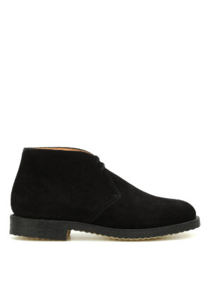 Church's: ankle boots - Ryder castoro suede ankle boots