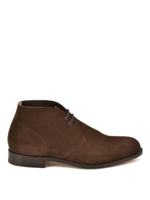 Church's: ankle boots - Sahara suede ankle boots