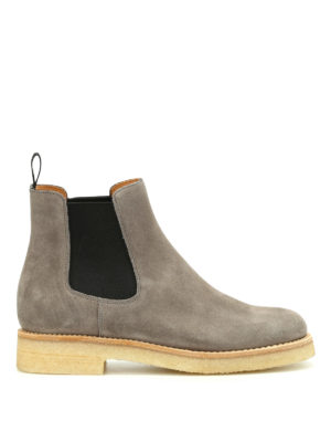 Church's: ankle boots - Suede Chelsea boots with crepe sole