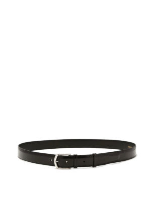 Church's: belts - Brushed leather belt