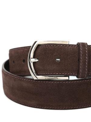 Church's: belts online - Suede belt