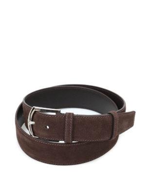 Church's: belts - Suede belt