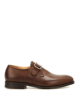 Church's: classic shoes - Becket monkstrap leather shoes
