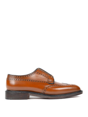 Church's: classic shoes - Brogue detailed Derby shoes