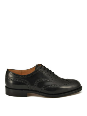 Church's: classic shoes - Burwood brogue Oxford shoes