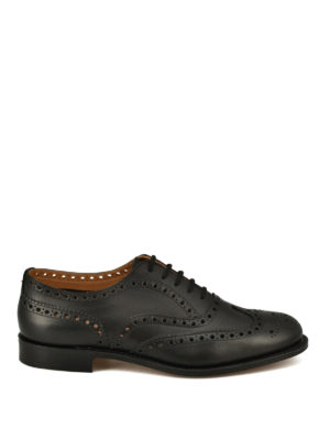 Church's: classic shoes - Burwood H leather Oxford shoes