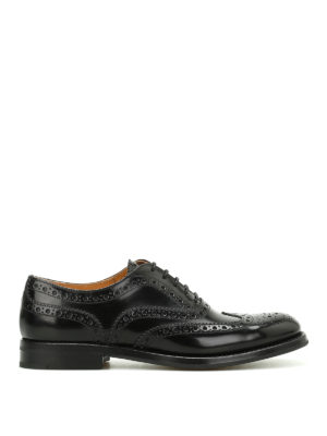 Church's: classic shoes - Burwood leather Oxford brogues