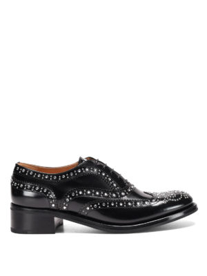 CHURCH'S: classiche - Derby Burwood Met
