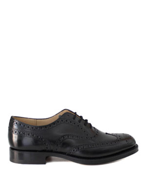 Church's: classic shoes - Burwood polished leather brogues