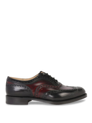 Church's: classic shoes - CLASSIC BURWOOD LACE-UP SHOES