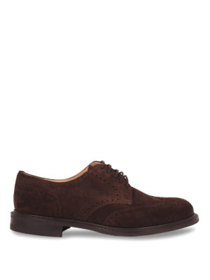 Church's: classic shoes - CLASSIC NEWARK SUEDE LACE-UPS