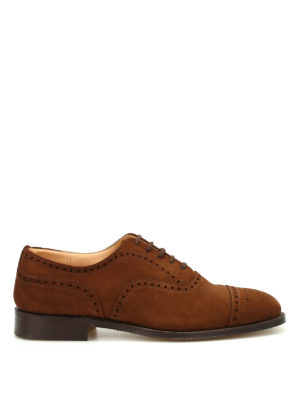 Church's: classic shoes - Diplomat superbuck suede shoes