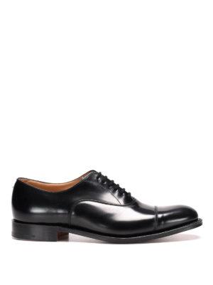 Church's: classic shoes - Dubai leather classic shoes