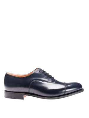 Church's: classic shoes - Dubai leather classic shoes