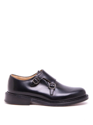 Church's: classic shoes - Lambourn polished monk straps