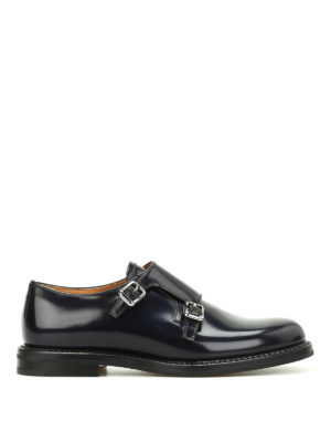 CHURCH'S: classiche - Monk strap Lora in pelle