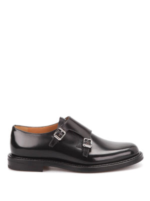 Church's: classic shoes - Lora polished monk straps