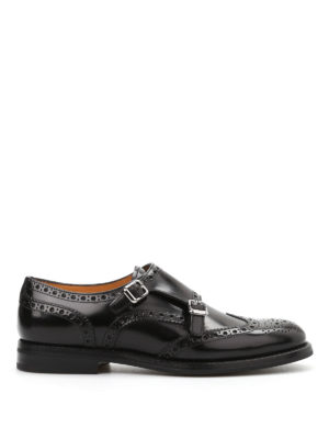 Church's: classic shoes - Metal buckle brogued shoes