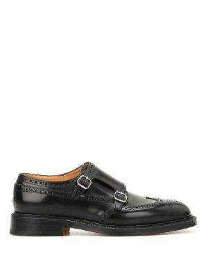 Church's: classic shoes - Monkton monk strap brogue shoes