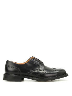Church's: classic shoes - Newark leather Derby brogues