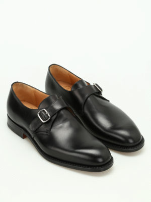 Church's: classic shoes online - Becket monkstrap leather shoes