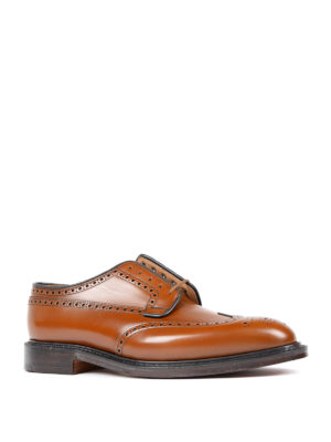 Church's: classic shoes online - Brogue detailed Derby shoes