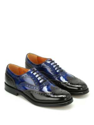 Church's: classic shoes online - Burwood bicolour Oxford brogues