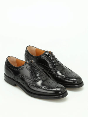 Church's: classic shoes online - Burwood leather Oxford brogues