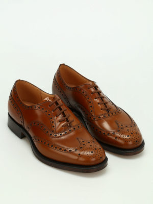 Church's: classic shoes online - Burwood polished binder shoes