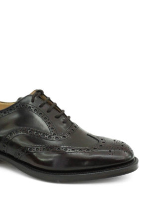 Church's: classic shoes online - Burwood polished leather brogues