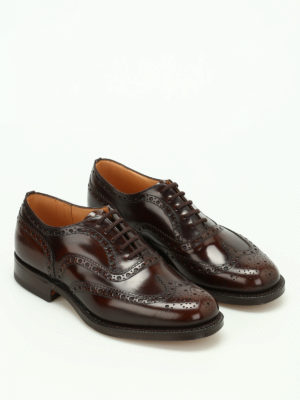 Church's: classic shoes online - Burwood shaded leather Oxford shoes