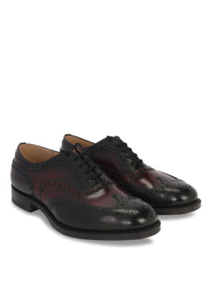 Church's: classic shoes online - CLASSIC BURWOOD LACE-UP SHOES