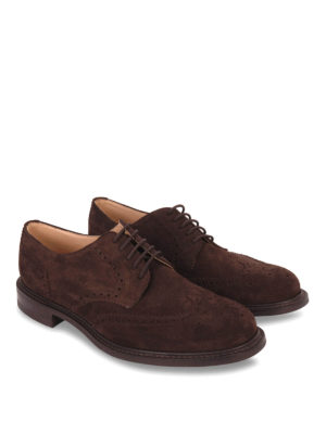 Church's: classic shoes online - CLASSIC NEWARK SUEDE LACE-UPS