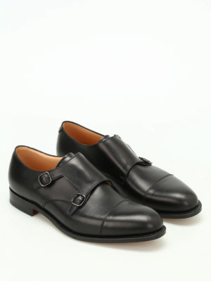 Church's: classic shoes online - Detroit leather monk strap