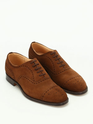 Church's: classic shoes online - Diplomat superbuck suede shoes