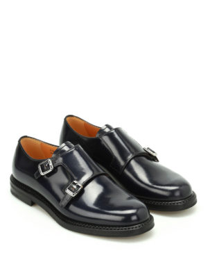 Church's: classic shoes online - Lora leather monk straps