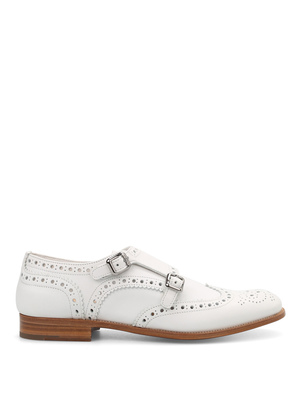 Church's: classic shoes online - Metal buckle brogued shoes