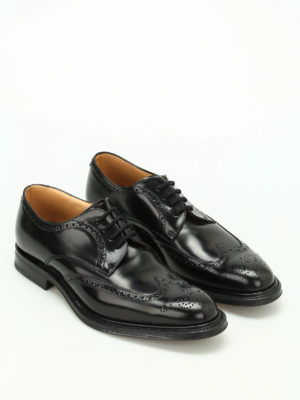 Church's: classic shoes online - Munich leather Derby brogues