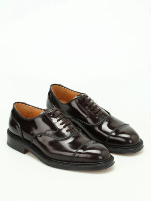 Church's: classic shoes online - Ongar brushed leather Oxford shoes