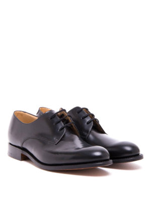 Church's: classic shoes online - Oslo polished leather lace-ups