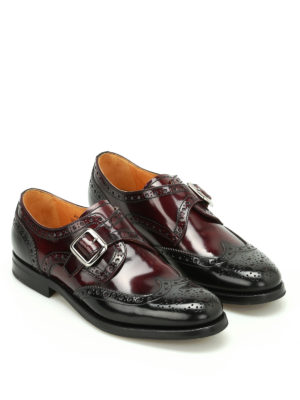 Church's: classic shoes online - Pattie shaded leather monk straps