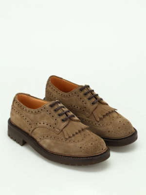Church's: classic shoes online - Plowden brogue suede shoes