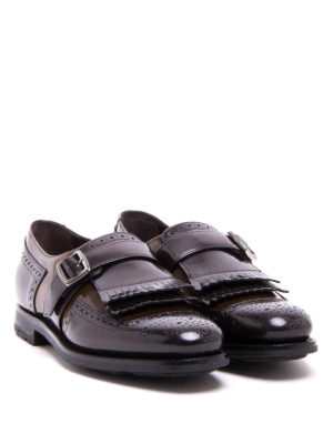 Church's: classic shoes online - Shangai fringed monk straps