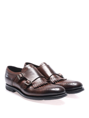 Church's: classic shoes online - Vintage calf monkstrap shoes