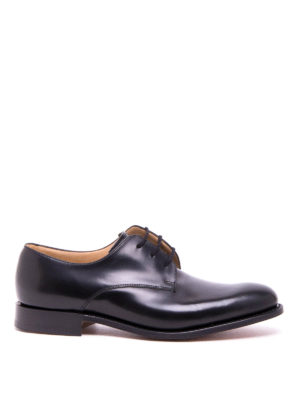 Church's: classic shoes - Oslo polished leather lace-ups