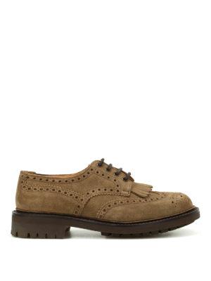 Church's: classic shoes - Plowden brogue suede shoes