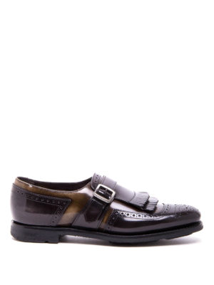 Church's: classic shoes - Shangai fringed monk straps