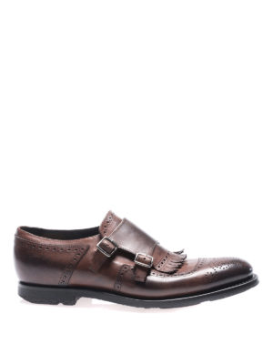 Church's: classic shoes - Vintage calf monkstrap shoes