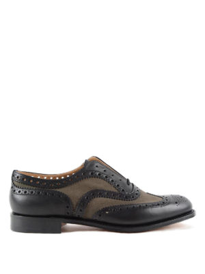 Church's: lace-ups shoes - Burwood leather brogue shoes